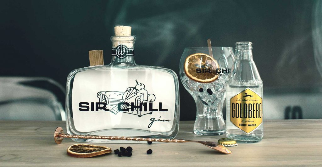 SirChill Gin Online-Aktion